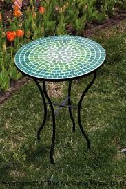 Mosaic Patio Tables The Patio As Outdoor Patio Furniture With Trend Mosaic Patio Table