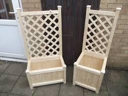 free trellis plans diy planter boxes with trellis myoutdoorplans free woodworking