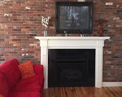 Brick Veneer Backsplash - Brick veneer backsplash
