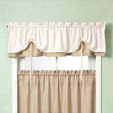Swag Curtains With Valance Buy Kitchen Curtains Valances From Bed Bath U0026 Beyond