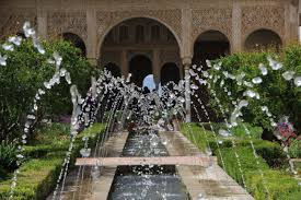 free images water flower palace arch patio garden tourism