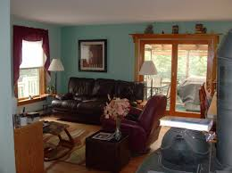 finished livingroom bruce thibeault painting company in nh