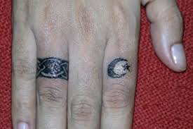 wedding band tattoos andino jewellery