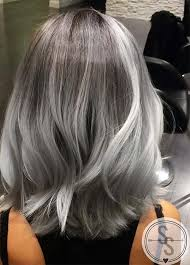 pictures of ombre hair on bob length haur 85 silver hair color ideas and tips for dyeing maintaining your