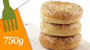 750g recette de cuisine pains bagels maison 750 grammes