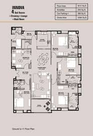 4 bed floor plans floor plan lakhani builders