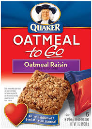 Amazon Com Quaker Chewy Granola Bars Variety Pack 58 Count by Amazon Com Quaker Oatmeal To Go Oatmeal Raisin Squares 6 Count