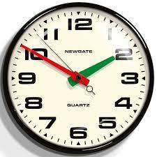 watch me wall clock pink normann copenhagen colour swatch clock