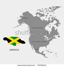 map usa to jamaica jamaica boundary stock images royalty free images vectors