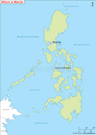 Philippines Map World by Where Is Manila Located Manila Location On Map