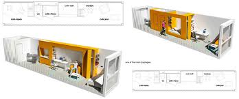 Storage Container Homes Floor Plans One Wall Living They Forgot The Laundry Container Home