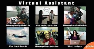 What Society Thinks I Do Meme - funny meme about virtual assistants what peopl