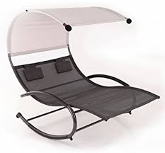Patio Chair Swing Belleze Chaise Rocker Patio Furniture Seat