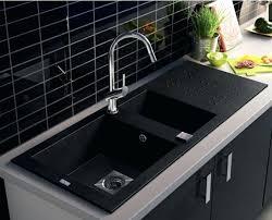 plan de travail cuisine gris anthracite evier cuisine blanco coupure cuisine blanc plan de travail gris