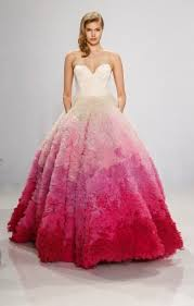 colorful wedding dresses 16 colorful wedding dresses that practically scream huffpost