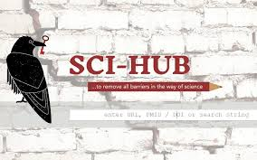 Sci Hub Sci Hub Is Providing Science Publishers With Their Napster Moment