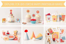circus cake toppers free geo circus party printable cake topper tinyme