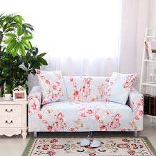 Sofa Protector Aliexpress Com Buy Sweet Pink Floral Sofa Cover Stretch