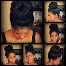 pics of black pretty big hair buns with added hair big high bun my go to hairstyle how to take care of natural hair