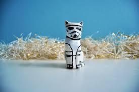 stormtrooper cat ornament cat ornament wars ornament