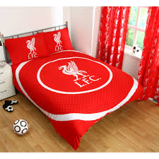 Duvet Club Liverpool Fc Single And Double Duvet Cover Sets Bedroom Bedding