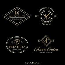 design logo download free elegant hair salon logos vector free download