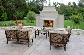 elegant outdoor fireplace michael glassman u0026 associates