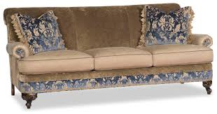 Outdoor Furniture Fabric by Fabric Sofa With Floral Design Work