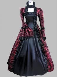 Marie Antoinette Halloween Costume Gothic 18th Century Marie Antoinette Inspired Dress Halloween