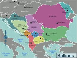 Greece On A Map Bulgaria And Balkan Tours In Bulgaria Zet Travel