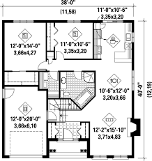 floor plan of a bungalow house stone bungalow house plan 80314pm architectural designs