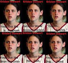 Kristen Stewart Meme - kristen stewart s many emotions picture ebaum s world