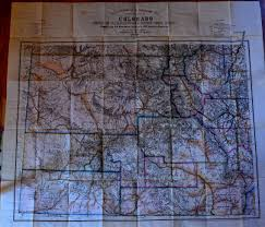 Topographical Map Of Colorado by Nell U0027s Map Of Colorado Mt Gothic Tomes And Reliquary