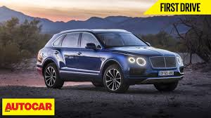 first bentley ever made bentley bentayga first drive autocar india youtube