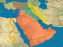 Asia Geography Map by Middle East Geography Lessons Tes Teach