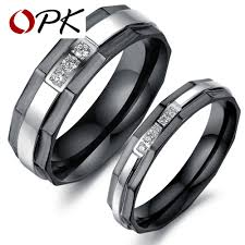 stainless steel wedding bands stainless steel wedding bands rings korean jewelry