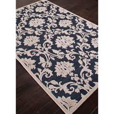 Modern Rugs Direct by Jaipur Fables Glamourous Blue White Fb78 Area Rug Free Shipping
