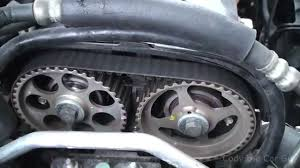 chevy aveo timing belt and timing marks part1 youtube
