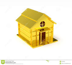 Home Design Gold Free Download Golden House Miniature Gold Toy Stock Photography Image 36290622