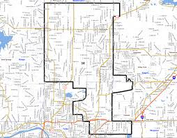 Tulsa Map Democrat J J Dossett Wins Owasso U0027s Senate District 34 Nondoc