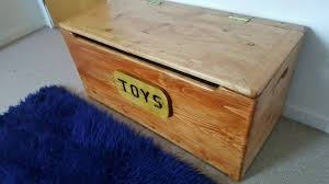 made to order handmade solid wood toybox in nottingham