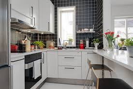 stylish minimalist kitchen design for apartments dining room