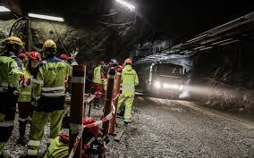 volvo sweden volvo tests autonomous trucks in a mine in sweden w video