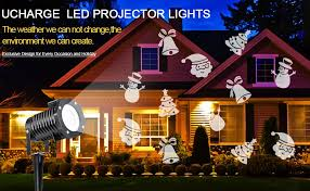 amazon com led christmas light projector ucharge indoor outdoor