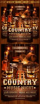 template flyer country free country music flyer template by gugulanul graphicriver