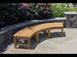 garden bench designs outdoor bench plans easy youtube