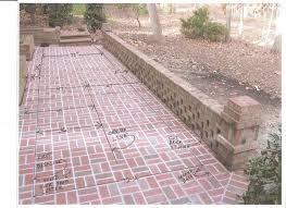 brick for patio rebuilding a brick patio professional deck builder hardscape