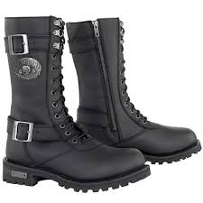 womens leather boots xelement x29409 s black performance leather boots