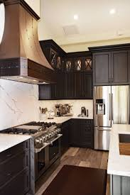 white kitchen cabinets with vinyl plank flooring 75 beautiful vinyl floor kitchen with wood cabinets