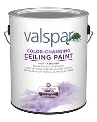 is paint any valspar color changing ceiling paint